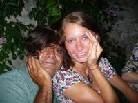 Croatia Diving:  PADI Instructor with lots of hair